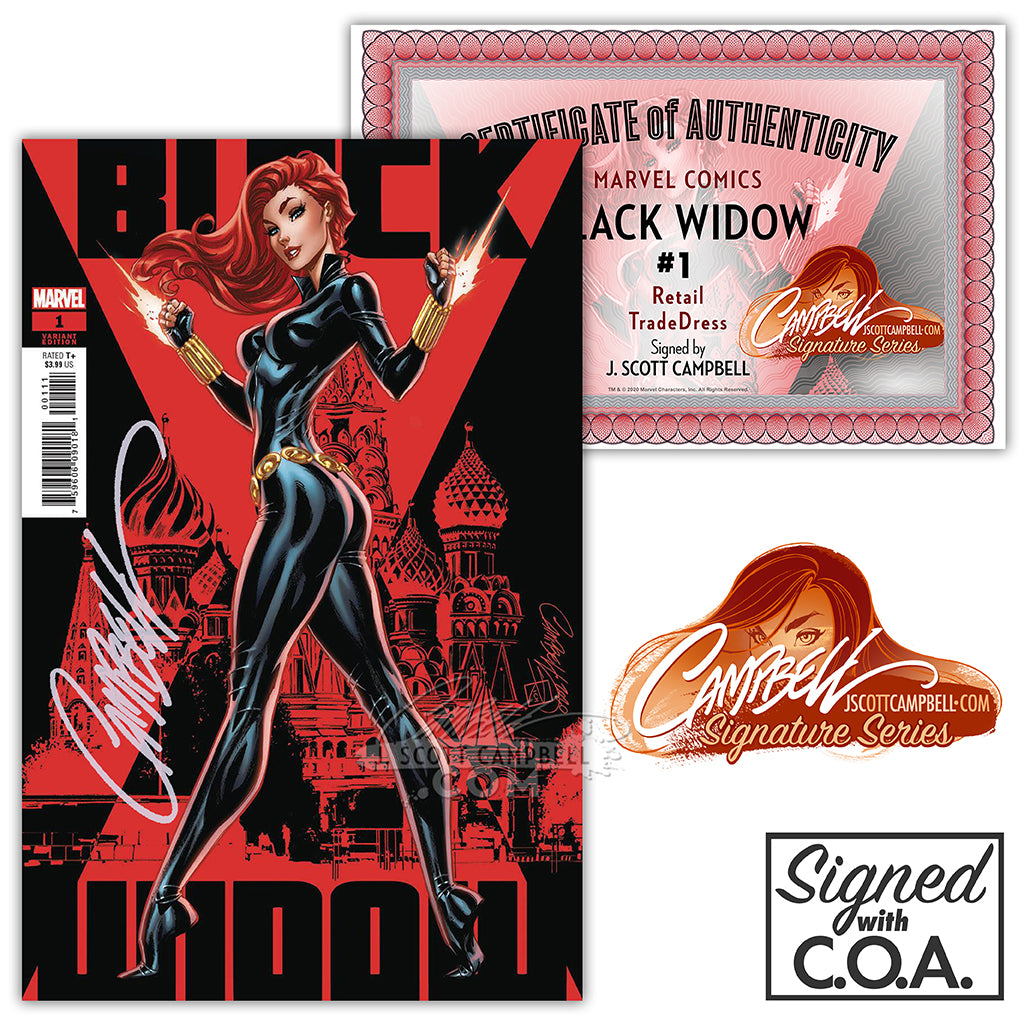 Black Widow #1 J. Scott Campbell