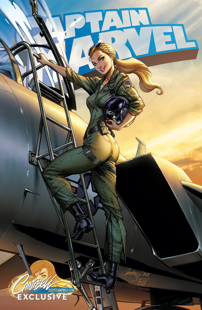 Captain Marvel #1 J. Scott Campbell EXCLUSIVE