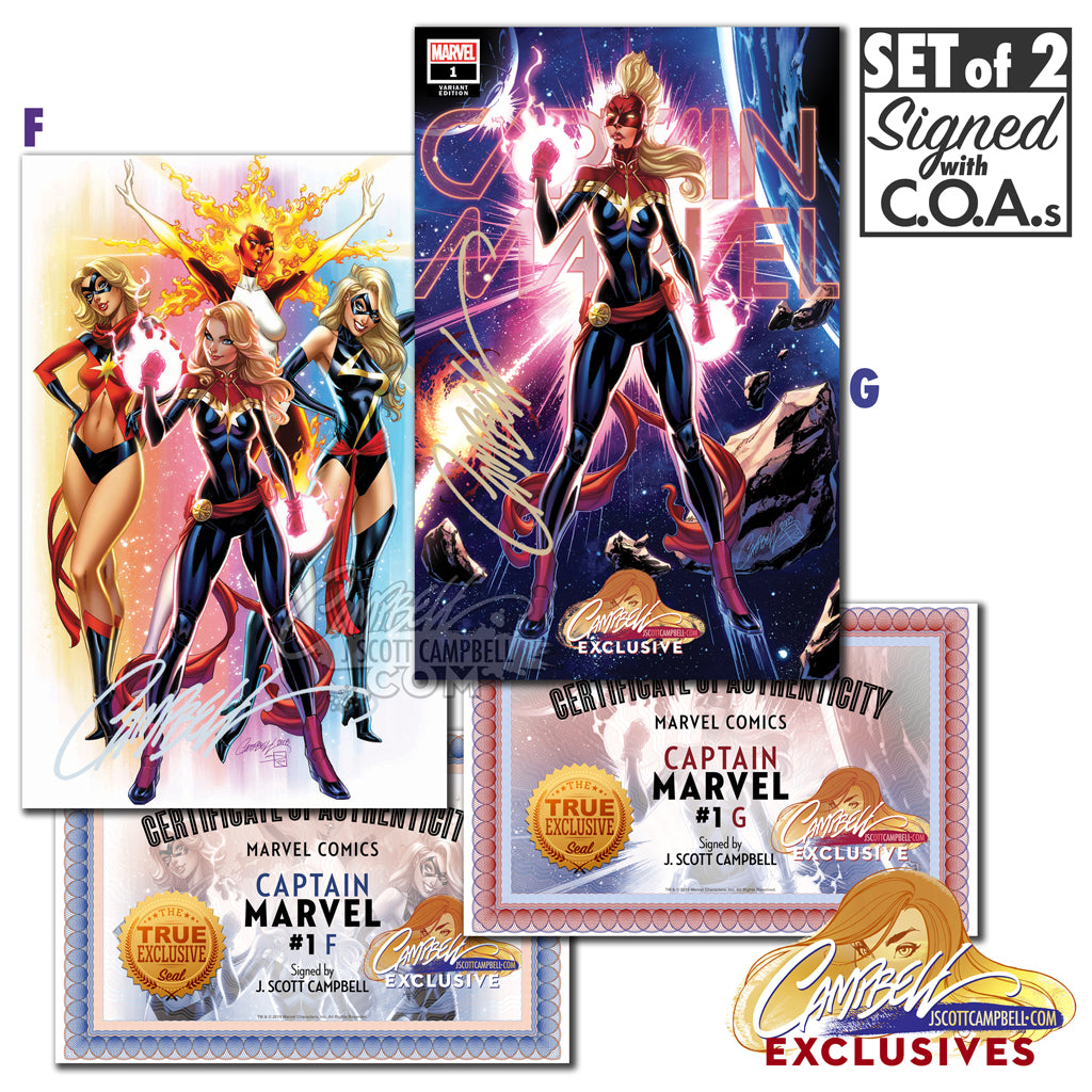 Captain Marvel #1 JSC EXCLUSIVE