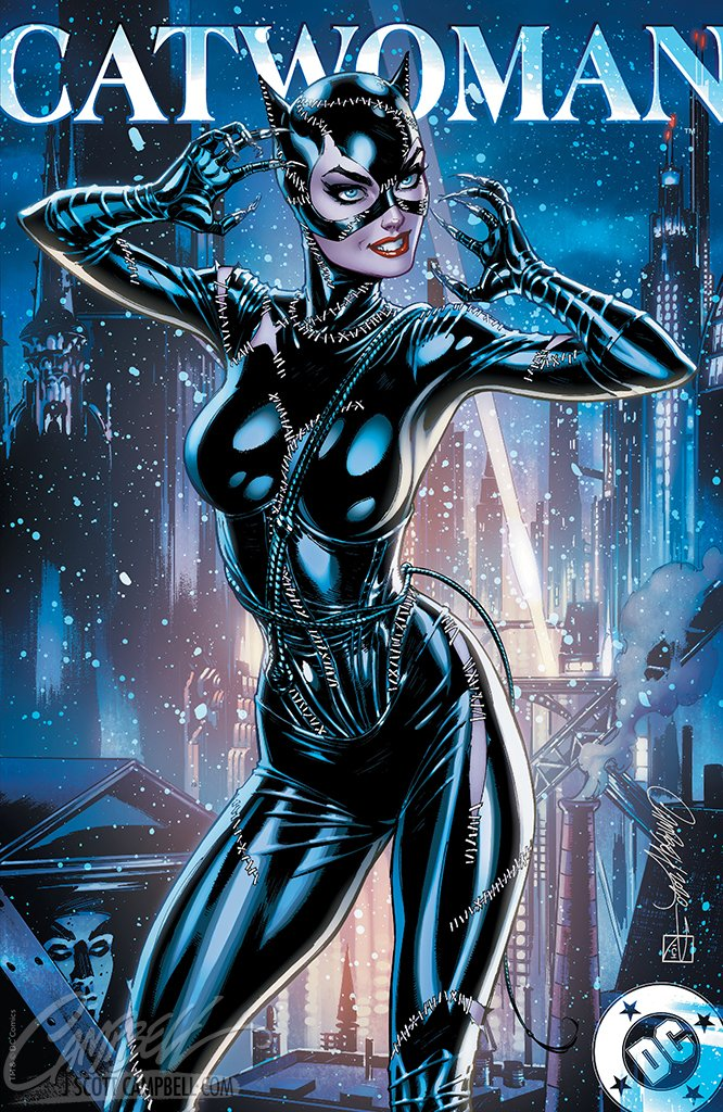 Catwoman 80th Anniversary JSC EXCLUSIVE