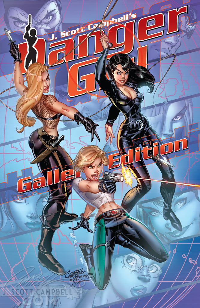Danger Girl Gallery Edition art books