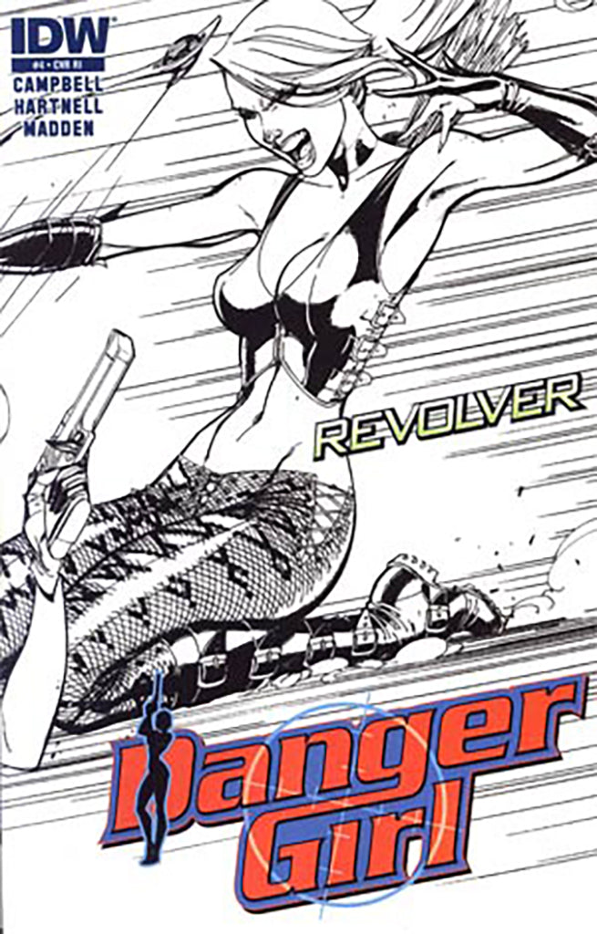 Danger Girl: Revolver #4