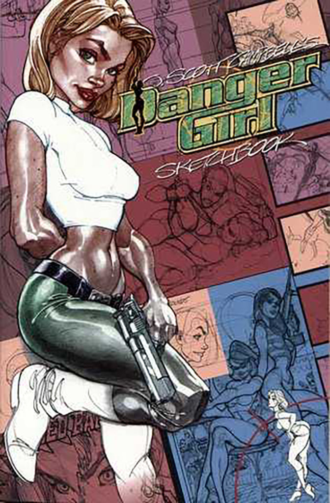 JSC's Danger Girl Sketchbook: Original Edition - TPB (2001)