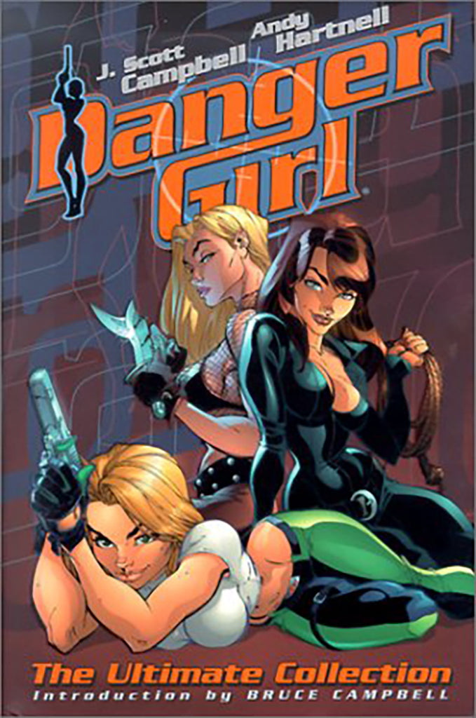 Danger Girl: The Ultimate Collection Hardcover 2001 (SOLD OUT)