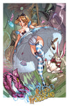 FTF Alice in Wonderland 2010 Print