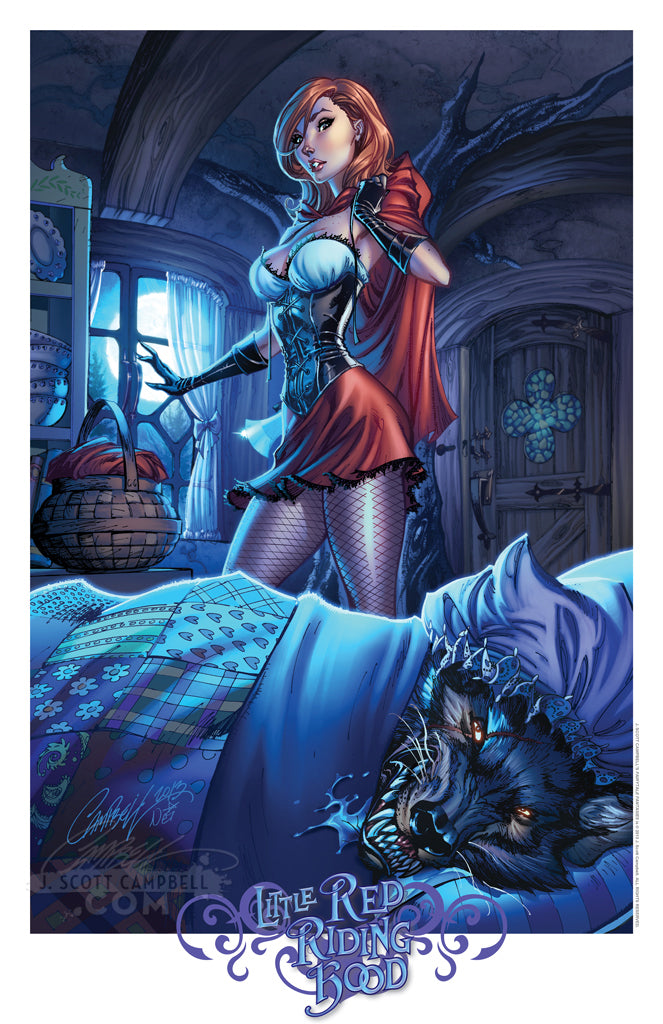 FTF Little Red Riding Hood 2014 Print 11x17