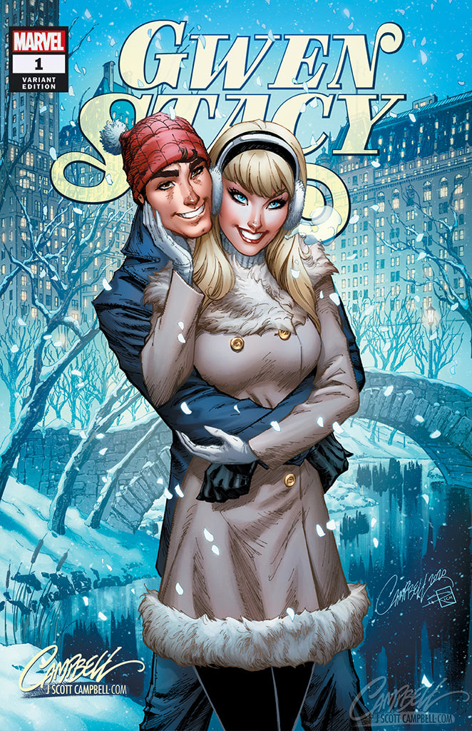 Gwen Stacy #1 J. Scott Campbell EXCLUSIVE