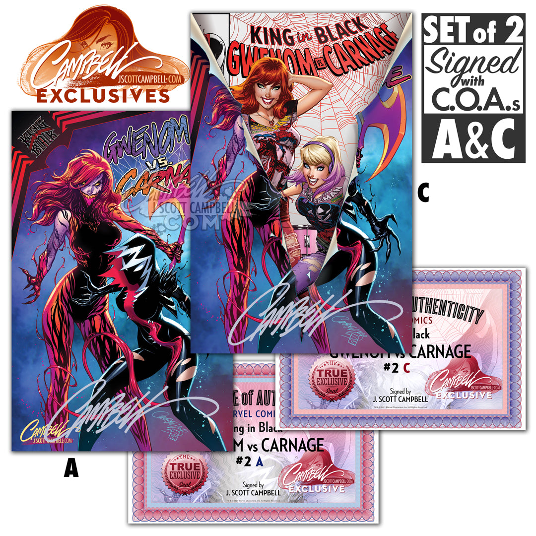 King in Black: Gwenom vs. Carnage #2 JSC EXCLUSIVE