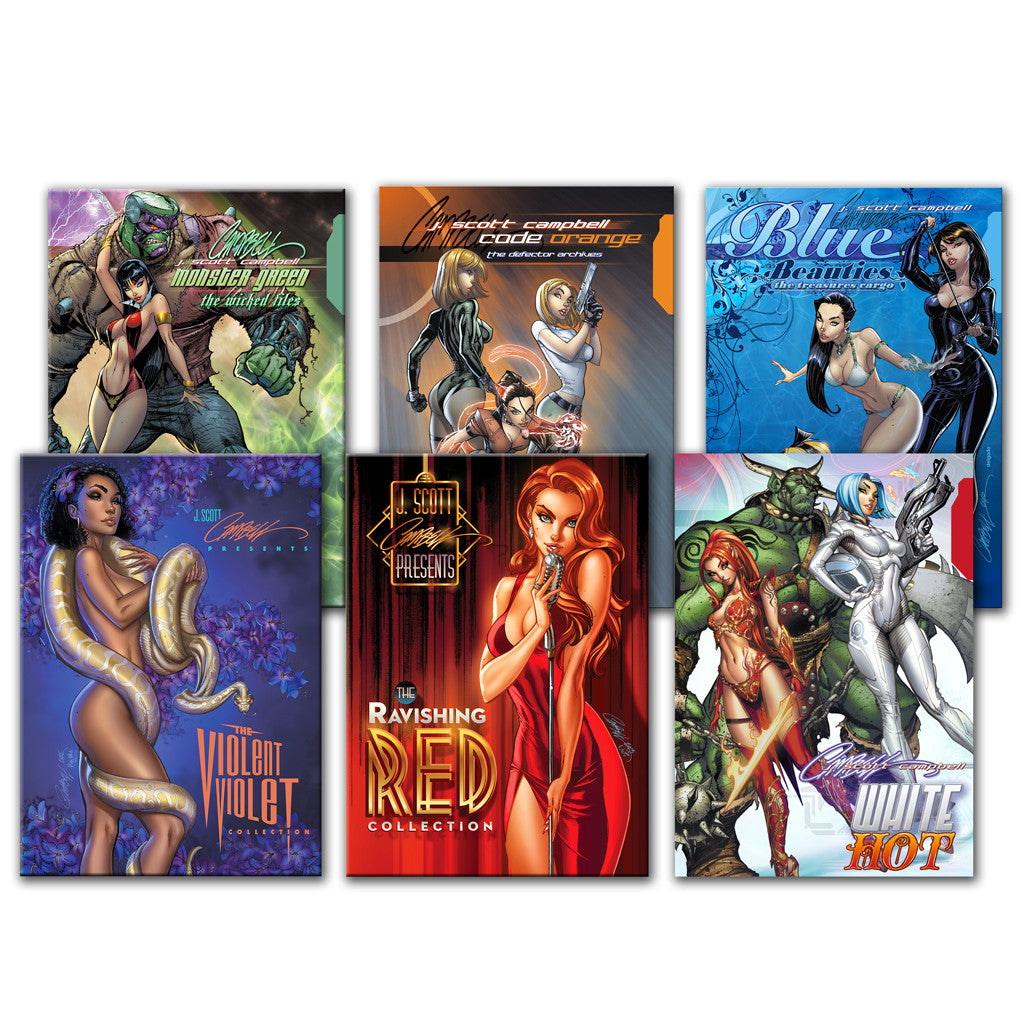 JSC Hardcover Collection Set of 6