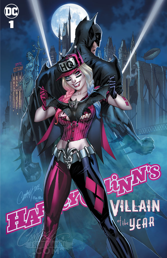 Harley Quinn's Villain of the Year #1 JSC EXCLUSIVE (SINGLES)