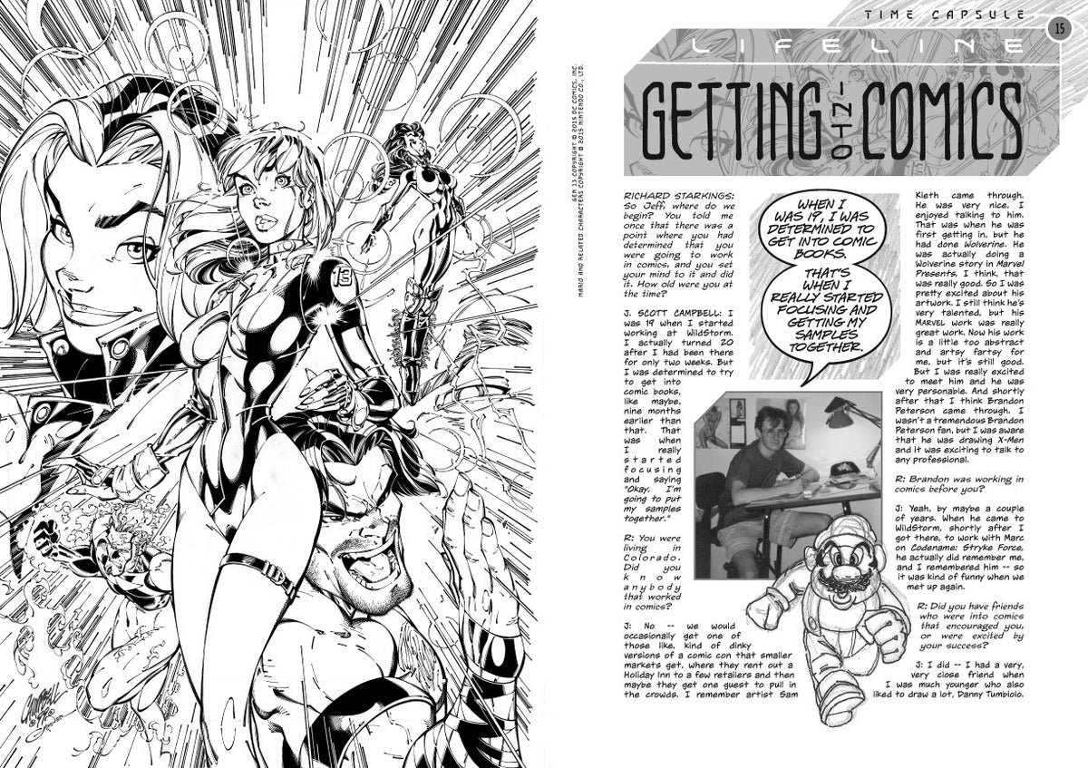 J. Scott Campbell: Time Capsule 1994-2004 Retrospective