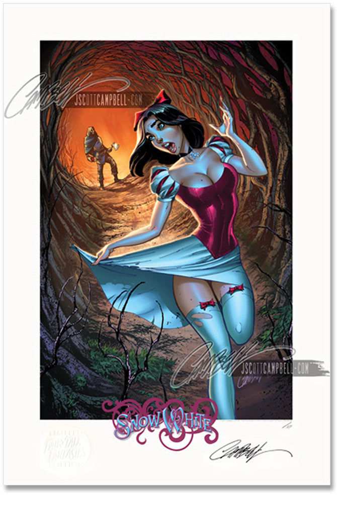 FTF Snow White 2012 Limited Edition Print 13x19