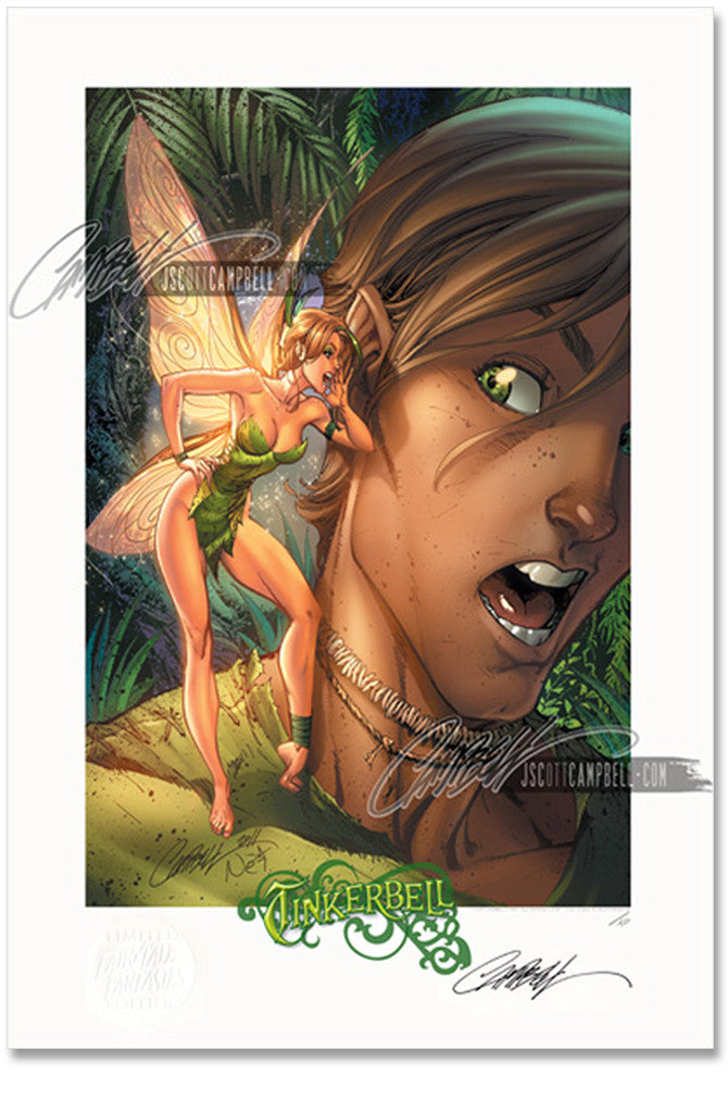 FTF Tinkerbell 2012 Limited Edition Print 13x19