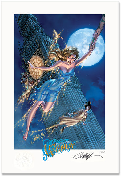 FTF Peter Pan's Wendy 2012 Limited Edition Print 13x19