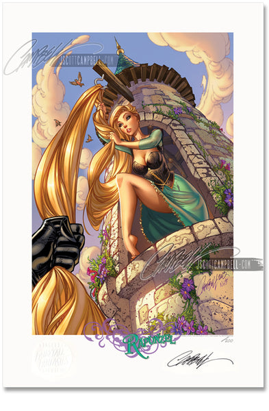 FTF Rapunzel 2014 FTF Limited Edition Print 13x19