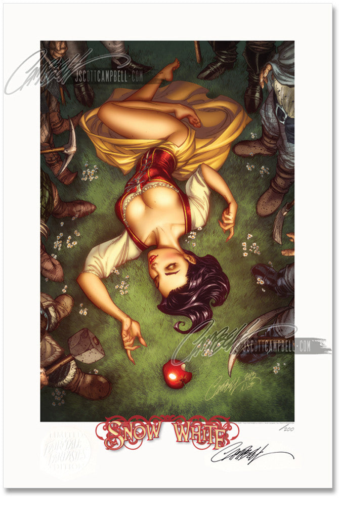 FTF Snow White 2014 Limited Edition Print 13x19
