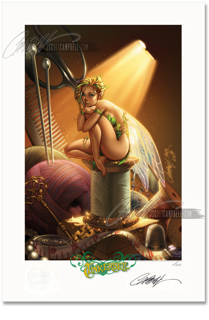 FTF Tinkerbell 2014 Limited Edition Print 13x19