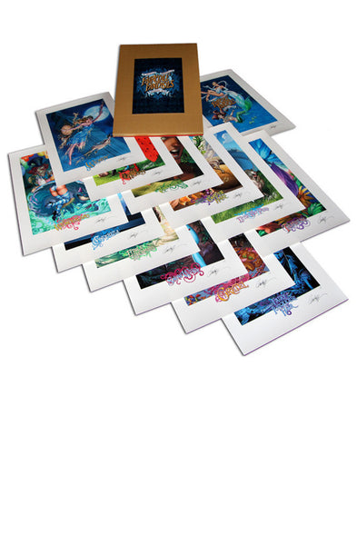 2012 FairyTale Fantasies Limited Edition Prints 13 prints