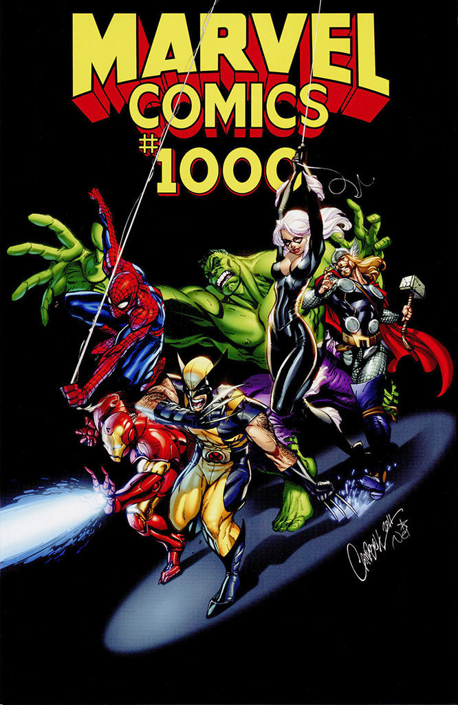 Marvel Comics #1000 J. Scott Campbell