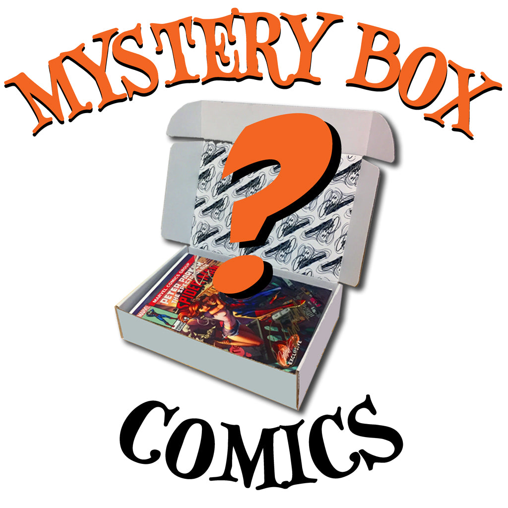 Mystery Box of J. Scott Campbell Comics