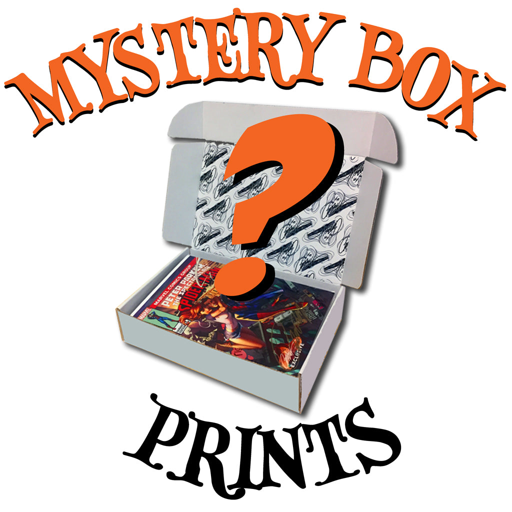 Mystery Box of J. Scott Campbell Prints (11x17)