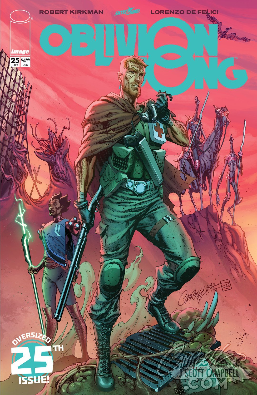 Original Art: Oblivion Song #25 Anniversary Issue
