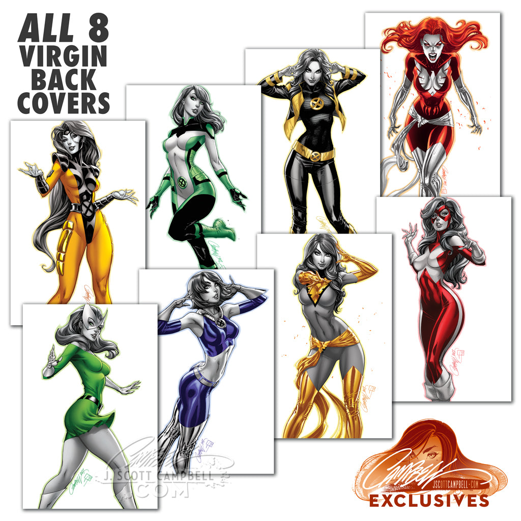 Jean Grey Costumes (re X-Men: Red)