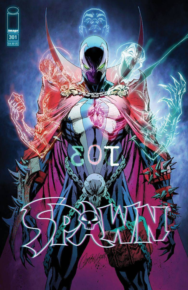 Original Art: Spawn #301 Retail Cover - SOLD