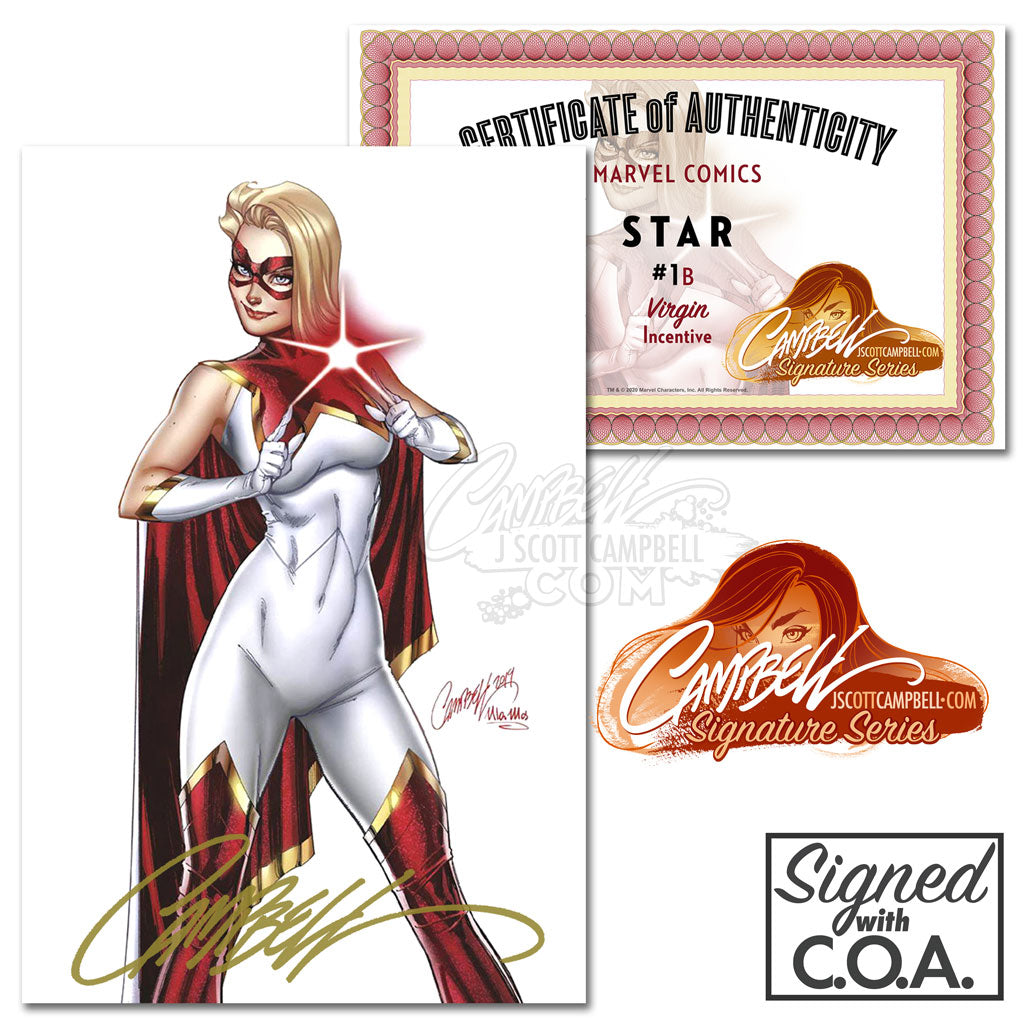 Star #1 J. Scott Campbell