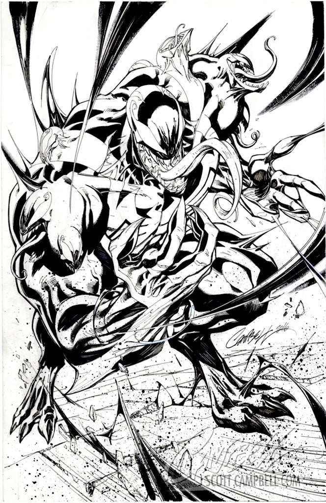 Original Art: Venom #3 1:100 INCENTIVE