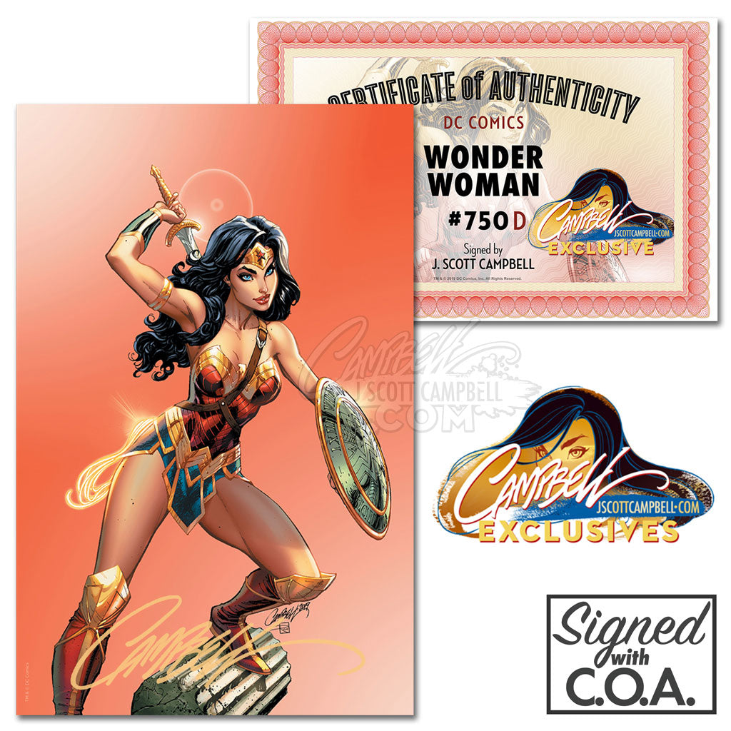 Wonder Woman #750 JSC EXCLUSIVE