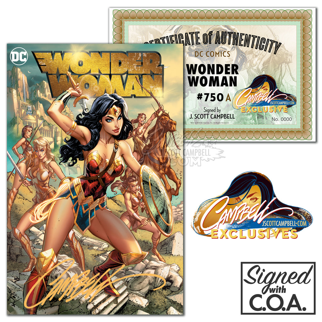 Wonder Woman #750 JSC EXCLUSIVE (SINGLES)