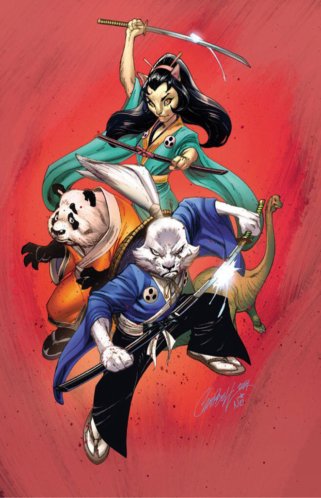 Usagi Yojimbo #1 JSC Comics and Ponies EXCLUSIVE