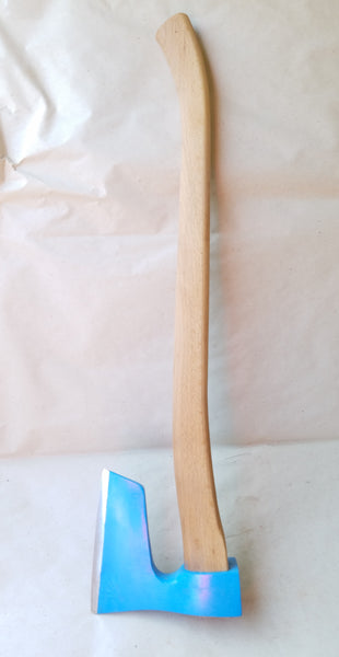 4.8 lbs Heavy bearded steel AXE with curved handle
