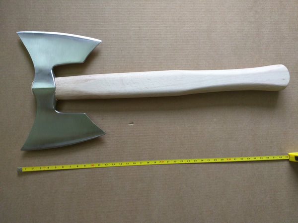 Double Bit Viking Style Tomahawk Battle Axe Stainless steel