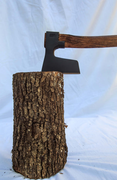 BEARDED AXE / HATCHET WITH CURVED HANDLE