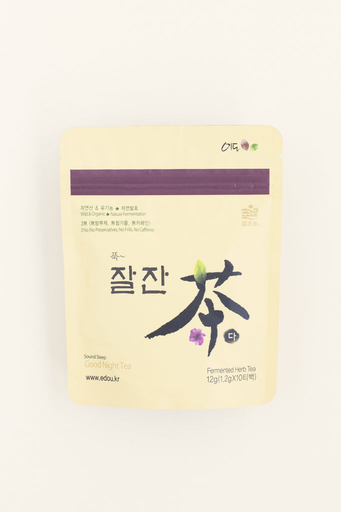 KOREANSK TE-TERAPI - EDO Good Night Tea