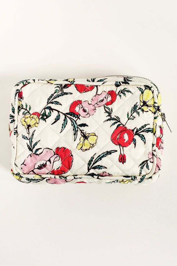 I Love My Stuff Silk Makeup Bag - The Print Collection