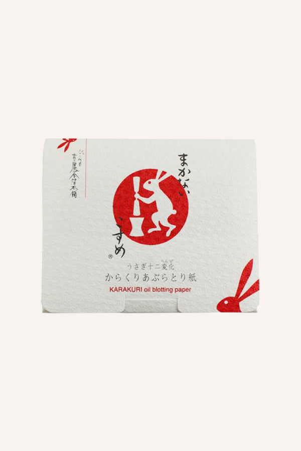Karakuri Magic Facial Blotting Paper