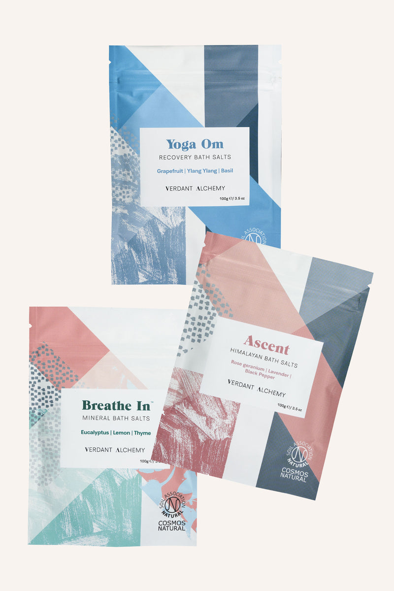 Mineral Bath Salts Collection