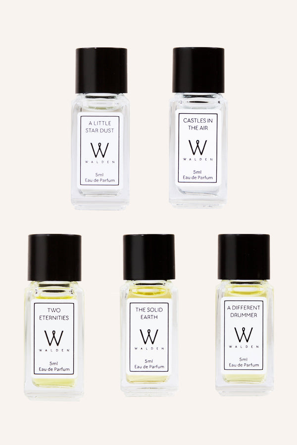 Walden Natural Perfume Gift Set