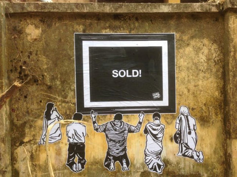 THE INDIAN BANKSY
