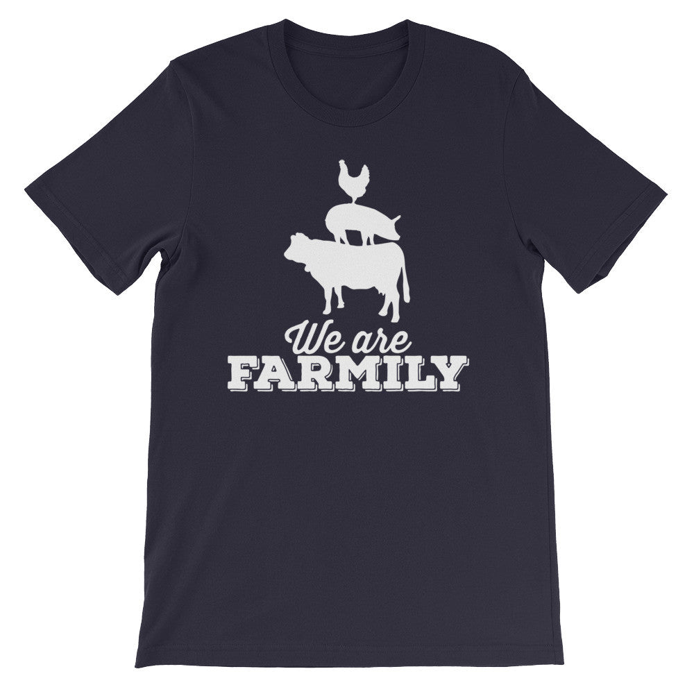 We are Farmily - unisex short sleeve t-shirt