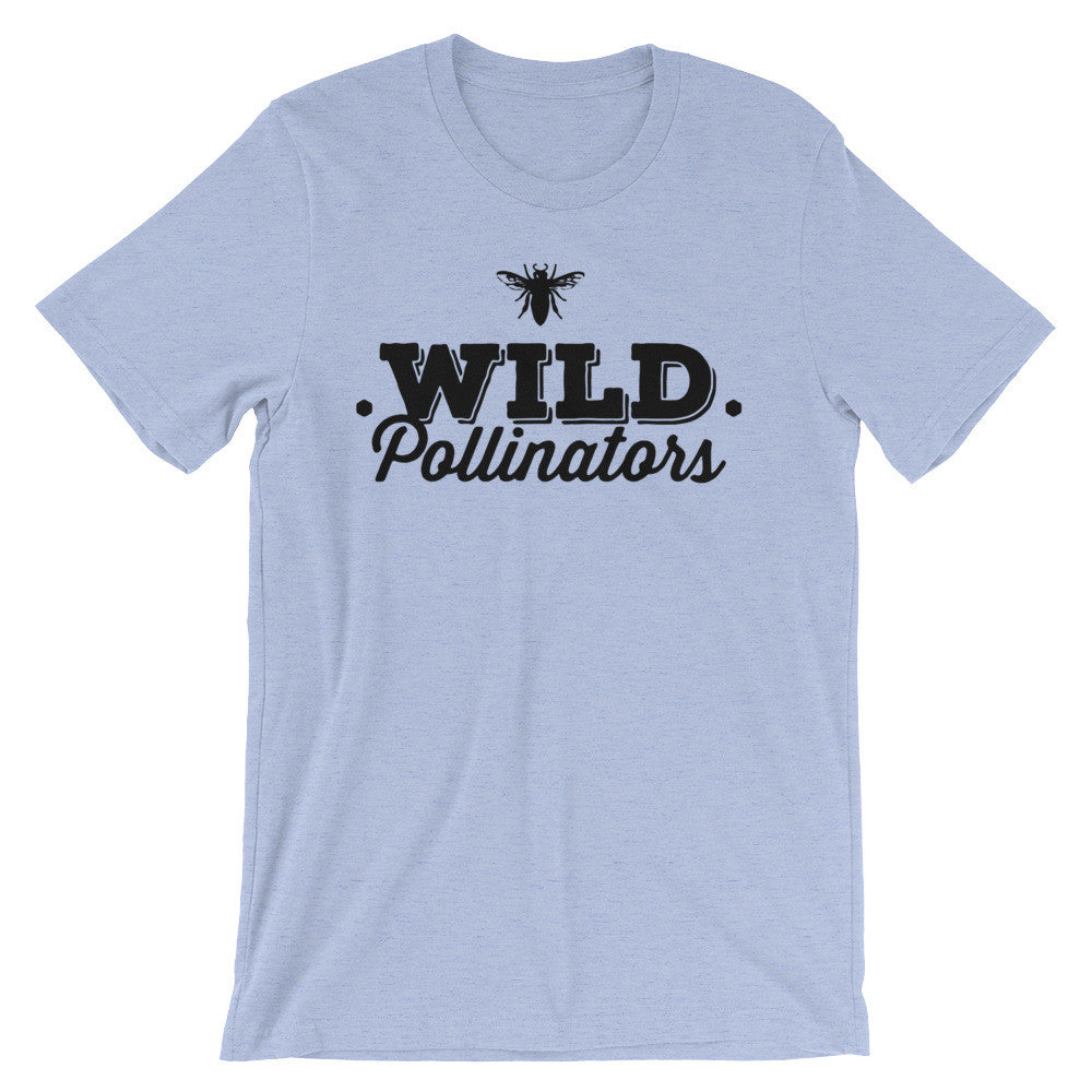 Wild Pollinators - unisex short sleeve t-shirt