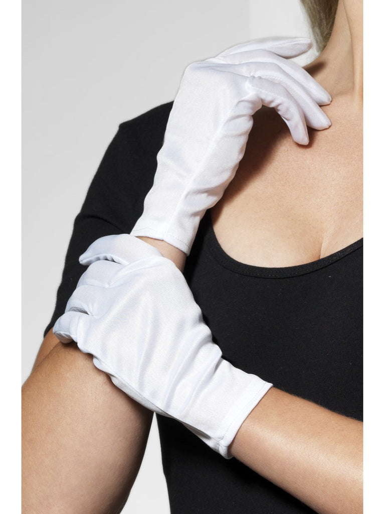 Gloves - Short - White