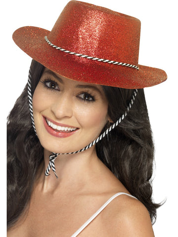 Cowboy Hat - Glitter - Assorted