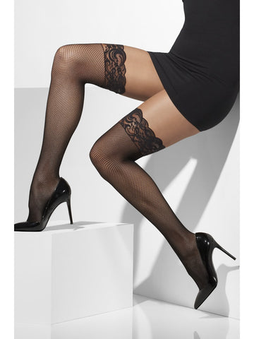 Hold Ups - Fishnet - Black