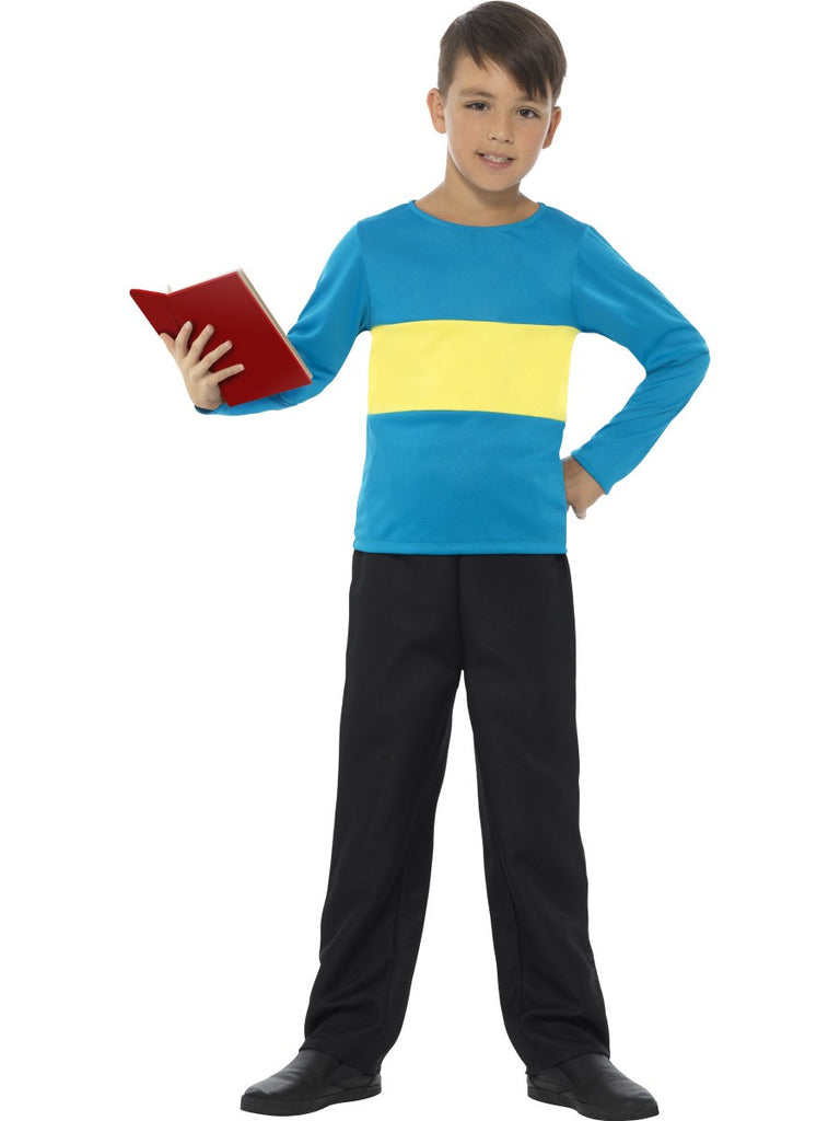 Jumper - Blue with Yellow Stripe - Childs