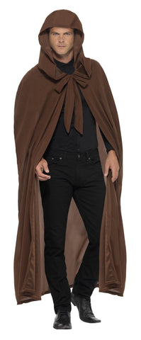 Cape - Hooded - Brown