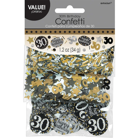 Confetti - Birthday - Gold Sparkling - Ages 18-100